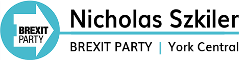 Brexit Party | Nicholas Szkiler PPC York Central